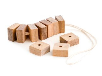 Bosign Cedar Blocks, with string