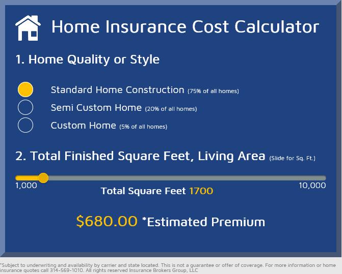 home insurance calculator