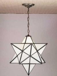 Star Shaped Light Fixture