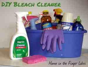 DIY Bleach Cleaner