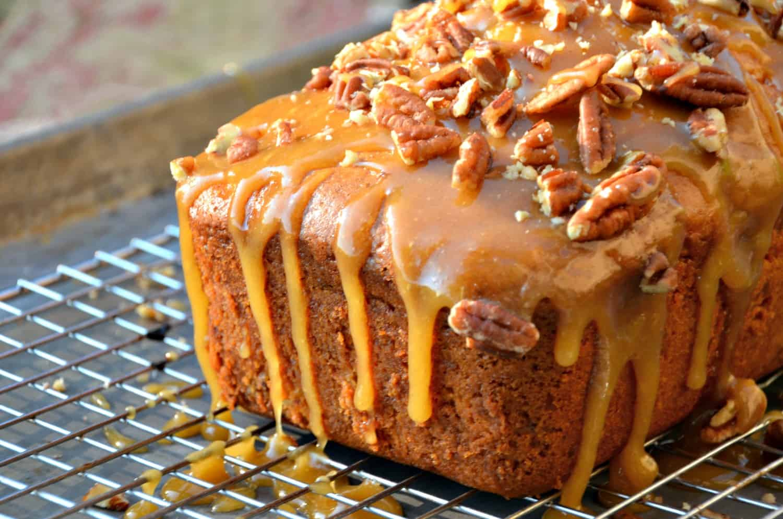 Apple Praline Bread Recipe- Home in the Finger Lakes