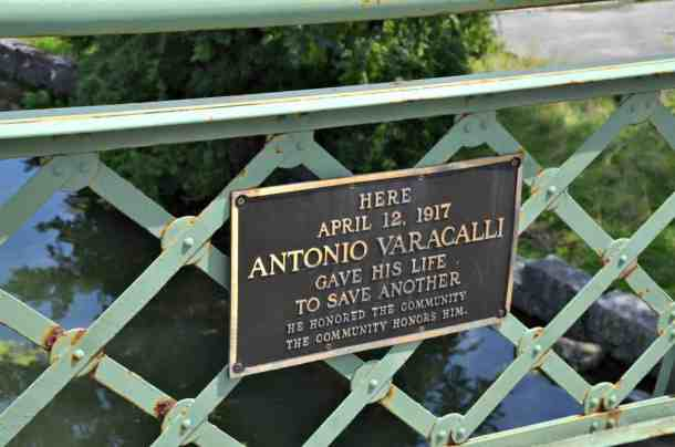 Antonio Varacalli drowned while successfully rescuing a young woman in Seneca Falls NY