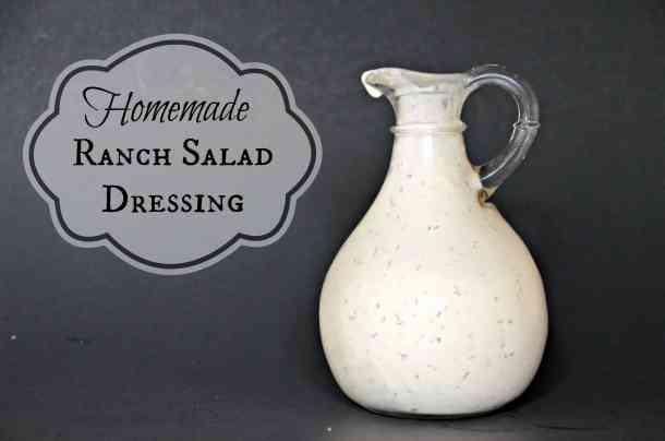 Homemade Ranch Salad Dressing