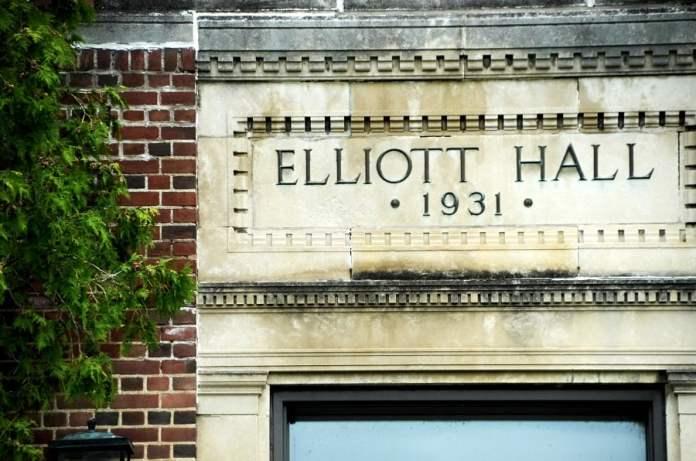 Elliot Hall Entrance