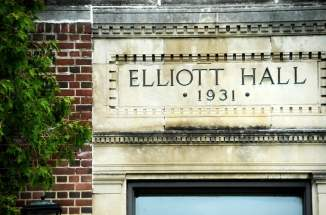 Elliot Hall Entrance