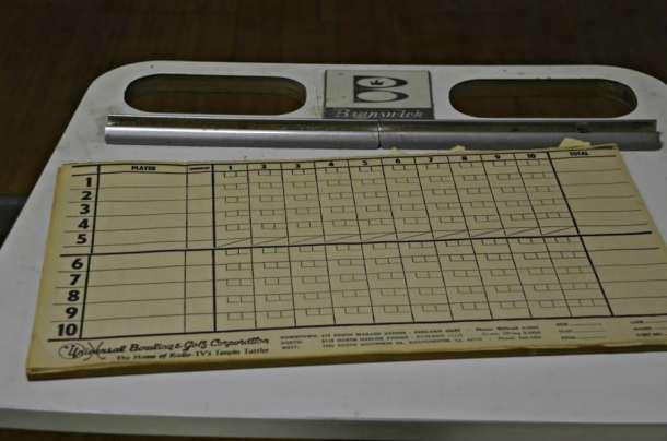Hadley Hall Bowling Score Sheet