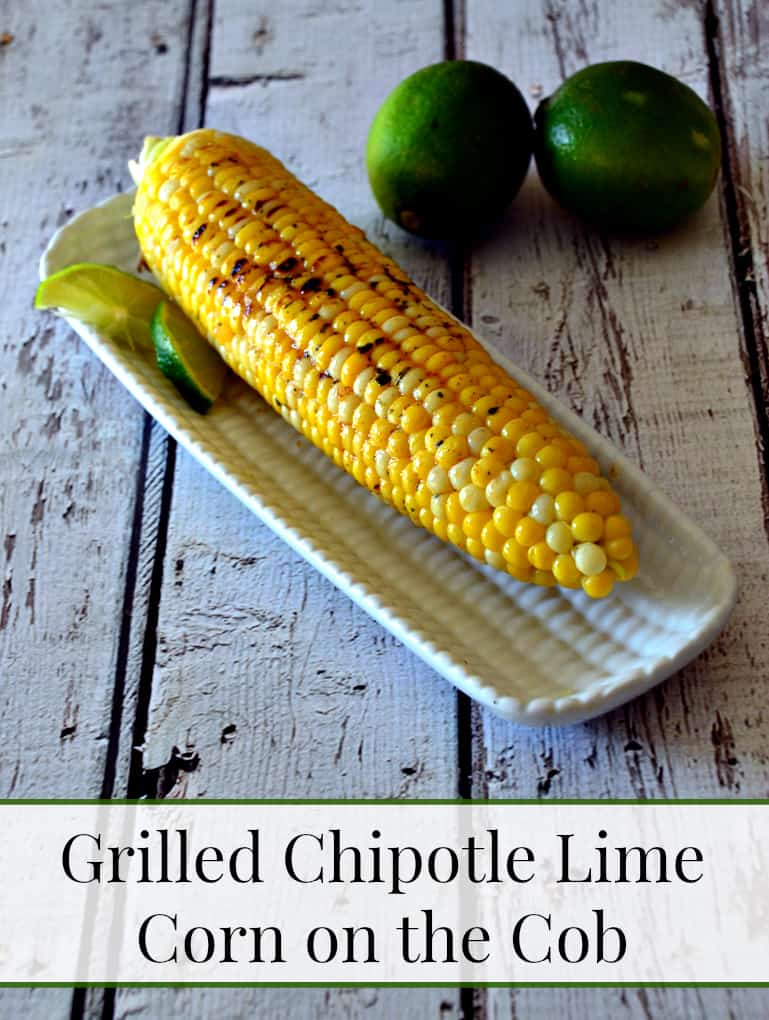 Grilled Chipotle Lime Corn on the Cob