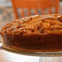 Apple Cider Upside Down Cake