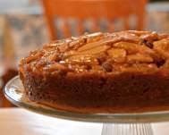 Apple cider Upside down cake
