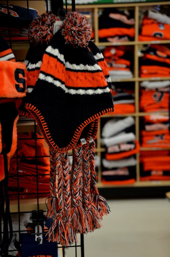 Local Shopping for the Syracuse Fan At Herb Philipson's Knit hats