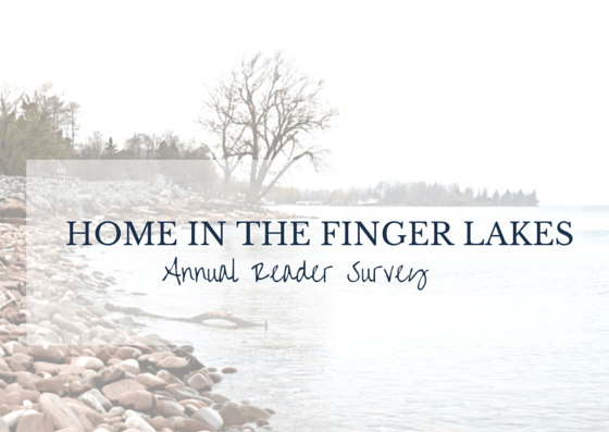 Home in the Finger Lakes Annual Reader Survey