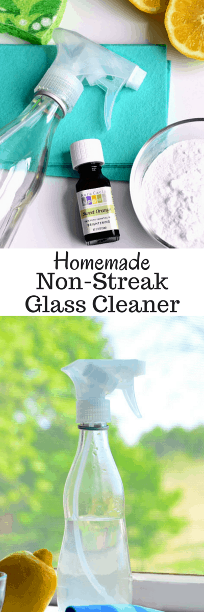 All-Natural Glass Cleaner