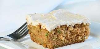 Cinnamon Zucchini Cake with Cinnamon Cream Cheese Frosting