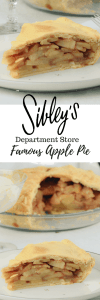 Sibley's Apple Pie Recipe