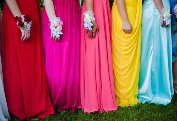 Brightly Colored Prom Dresses