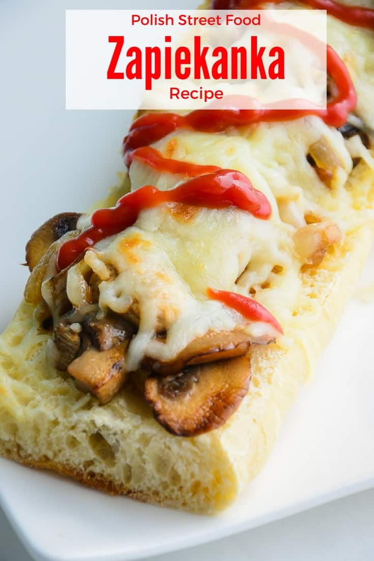 The Polish Open-Faced Sandwich (Zapiekanka) is a popular street food in Warsaw, but you can make it right in your own kitchen.