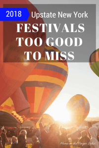 Hot air ballons with text overlay 10 Upstate New York Festivals too good to miss