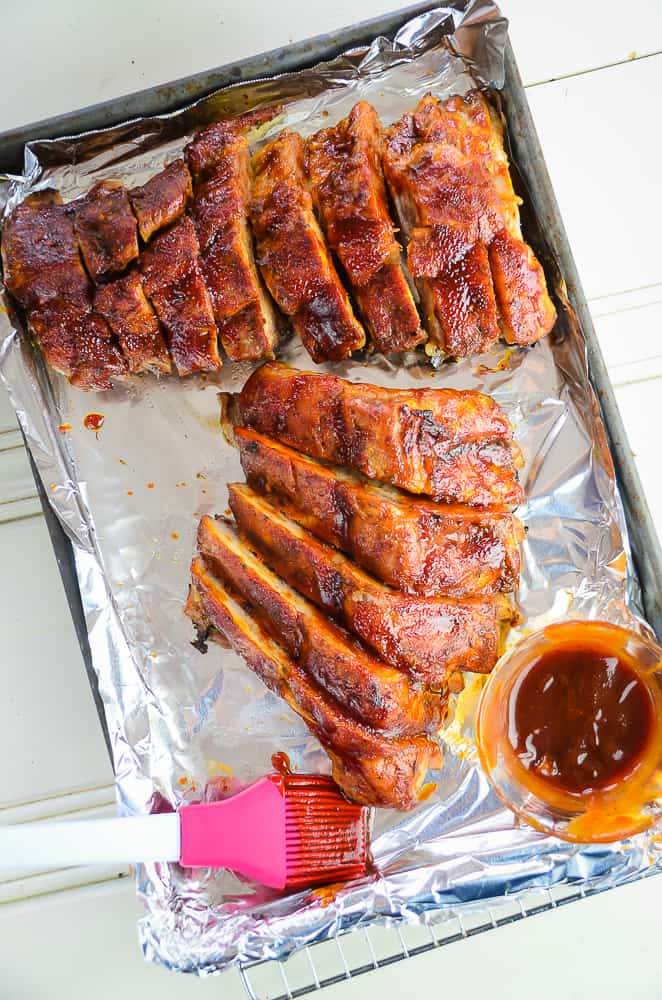 The Best Oven Baked Foil Wrapped Baby Back Ribs