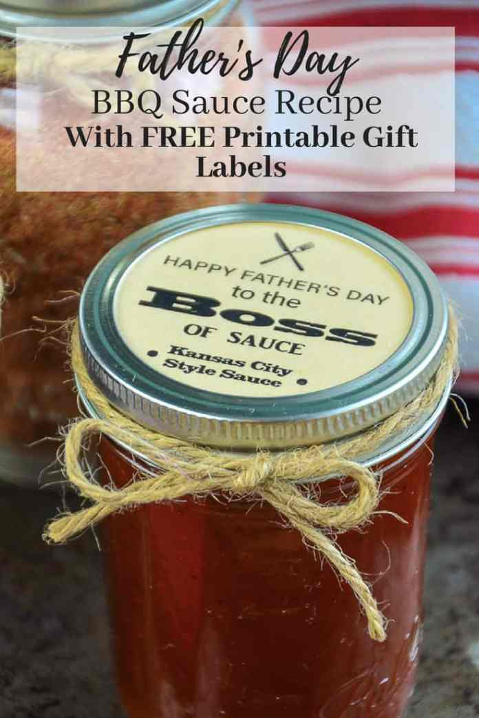 Do you have a father in your life who loves to BBQ? These BBQ Printable Mason Jar Lid Gift Tags and Recipes for Father's Day, and they are a quick and easy DIY gift he is sure to love!