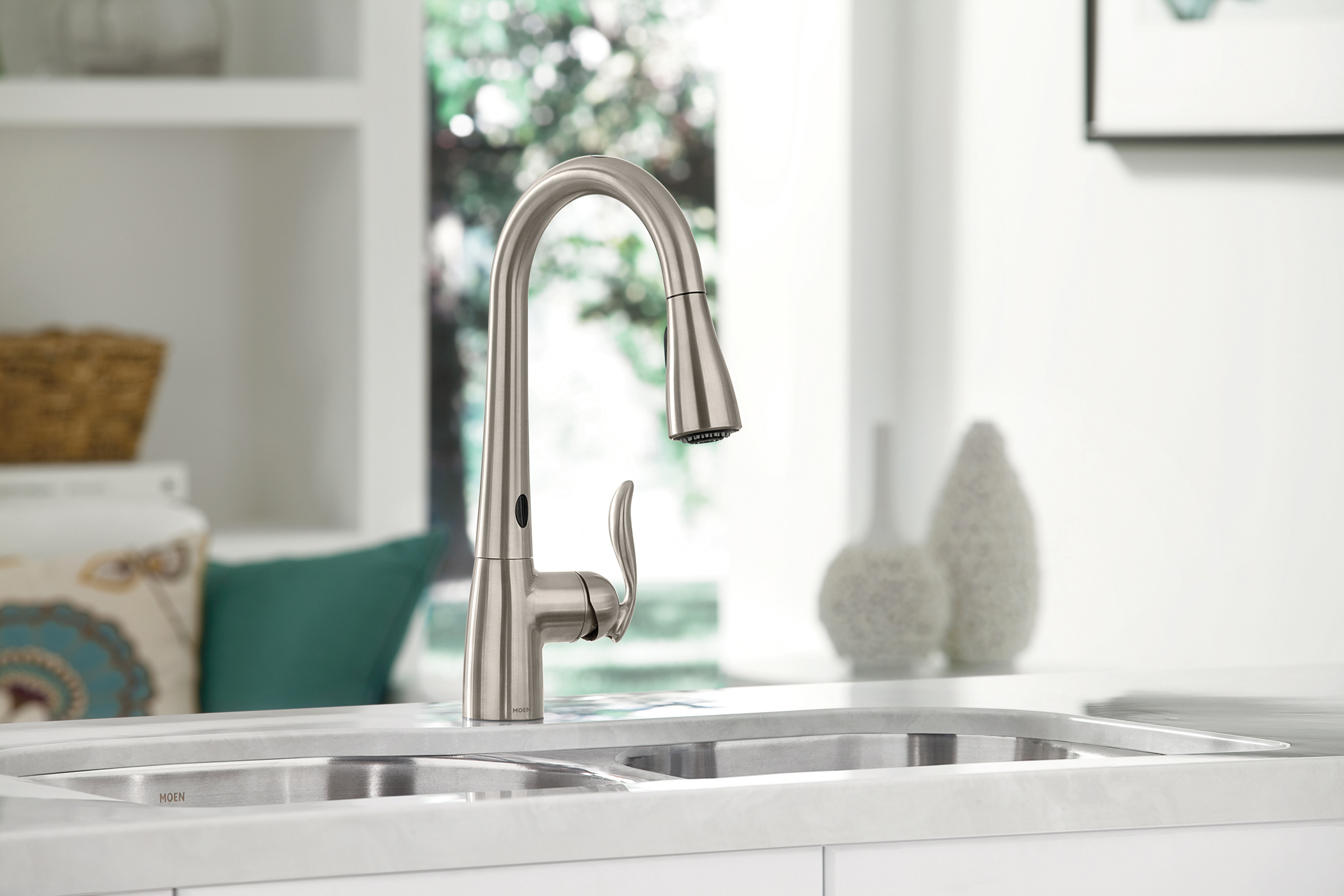 moen hands free kitchen faucet fisher faucets introduces a that actually works