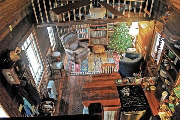 Mortgage-Free Living in a Hand-Built Tiny Home