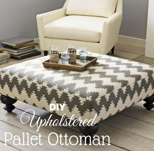 58 easy diy ottoman ideas you can make