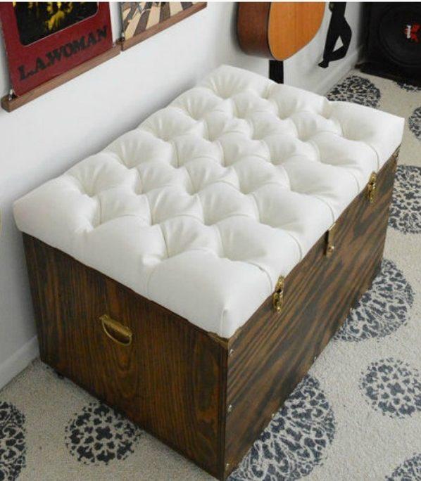 58 easy diy ottoman ideas you can make