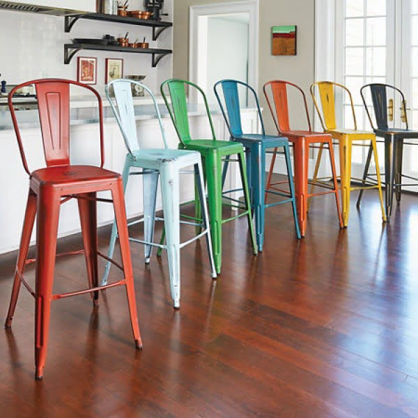 30 Colorful Kitchen Bar Stools That Youll Fall in Love With