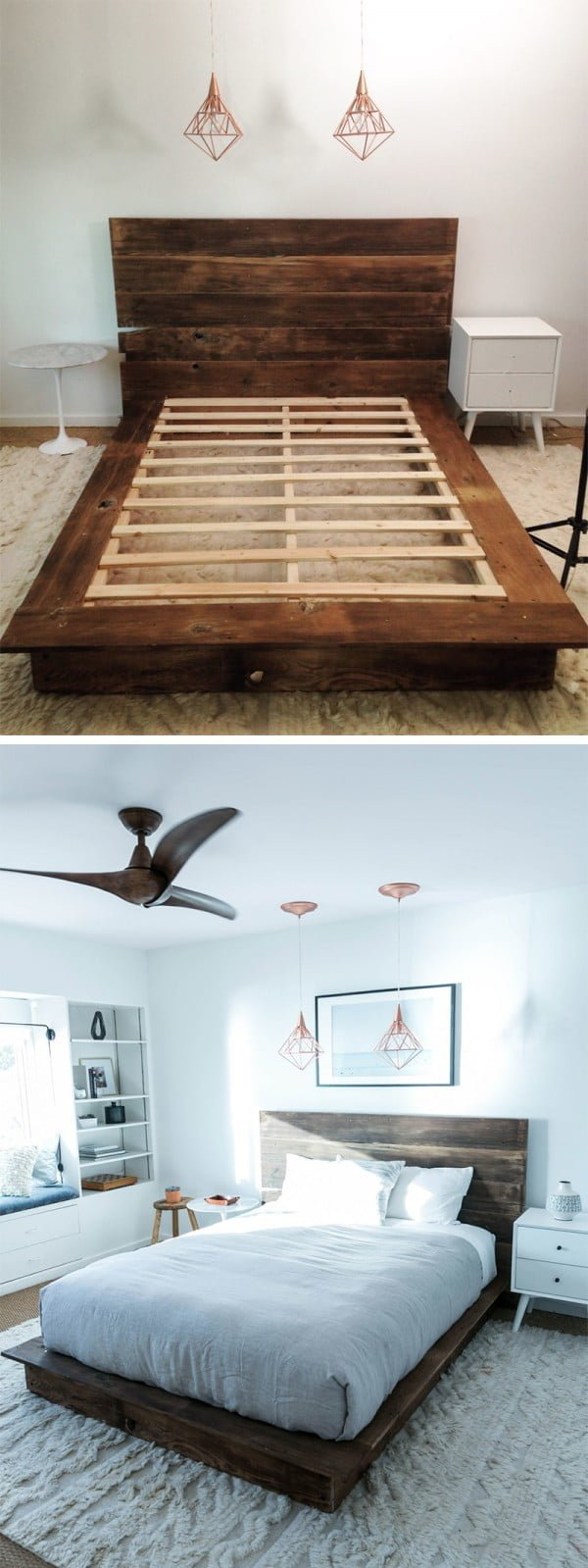 Diy Reclaimed Wood Platfrom Bed