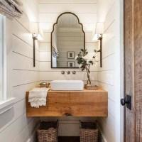 100 Cozy Farmhouse Bathroom Decor Ideas You Can Easily Copy
