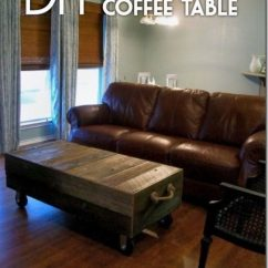 Living Room Without Coffee Table Ideas Images For Wall 40 Easy Diy You Can Build On A Budget Check Out The Tutorial How To Make Factory Cart
