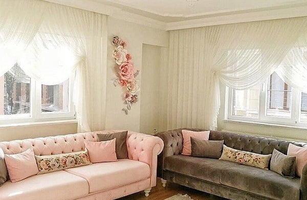 20 Best Modern Living Room Curtain Ideas In 2019