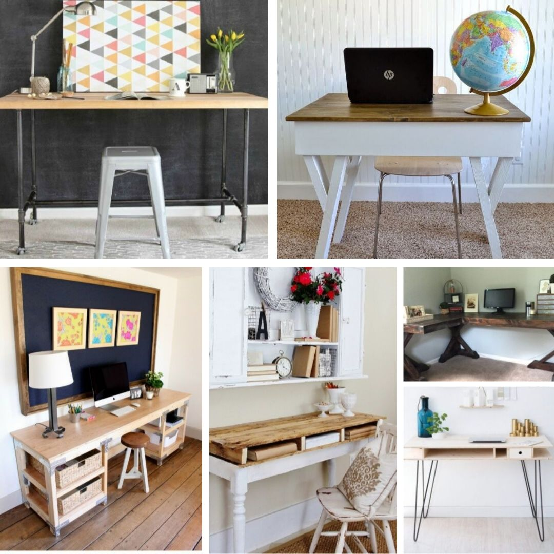 60 Diy Desk Ideas Updated For 2019
