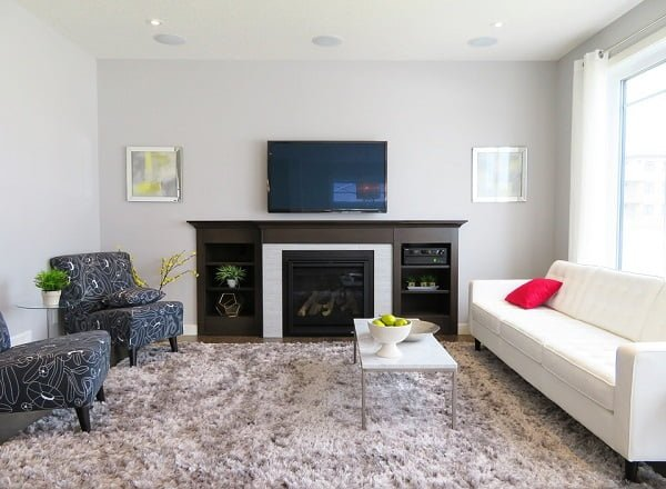 how to arrange living room furniture with fireplace and tv table lamp for 7 ways obsigen basic over layout homedecor