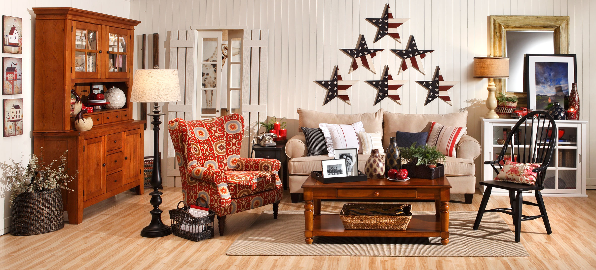 Americana Country Home Decor