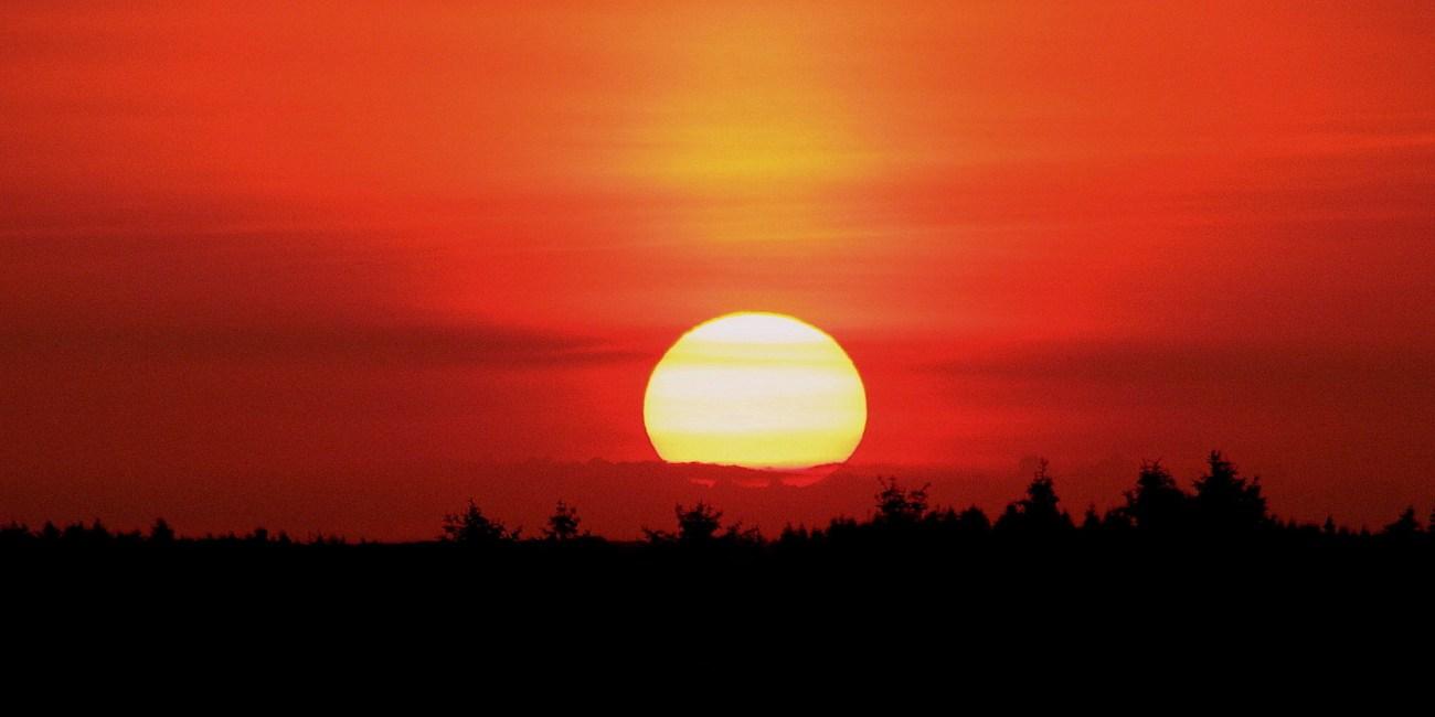 solnedgang rejse