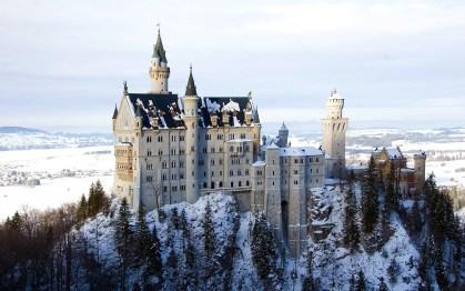 Neuschwanstein slot castle disney tyskland