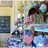 Chalking it Up to Celebrate the Red, White and Bloom!