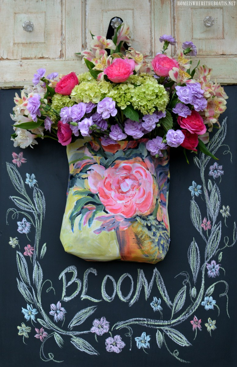 Florabundance A Tote Full of Posies  Home is Where the