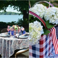 At the Table: Celebrating the Red, White and Blue