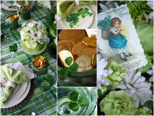 St. Pat's table