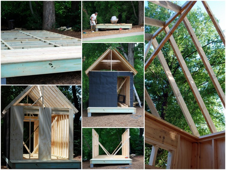 Building a Potting Shed | ©homeiswheretheboatis.net