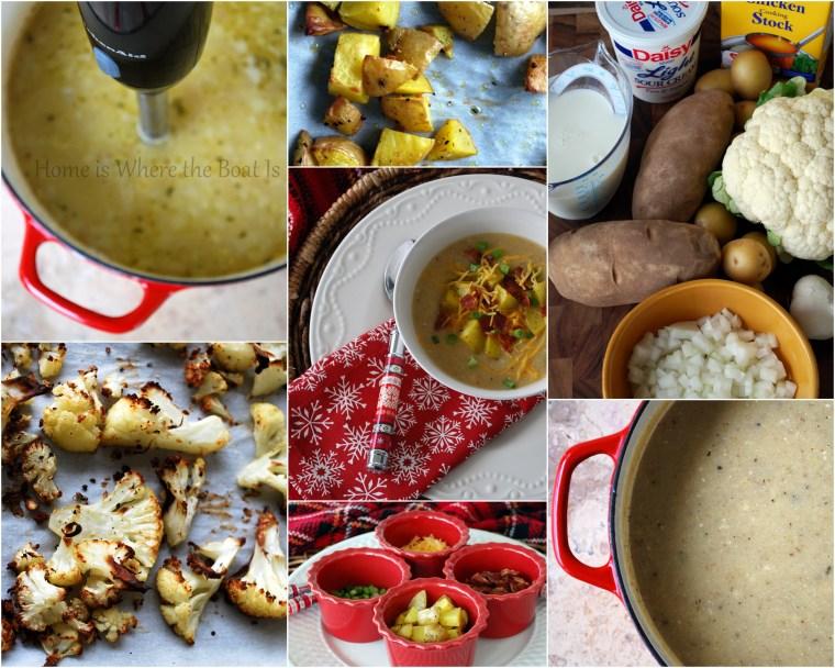 Potato & Cauliflower soup