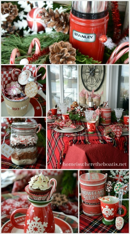 Candy Cane Cocoa Party