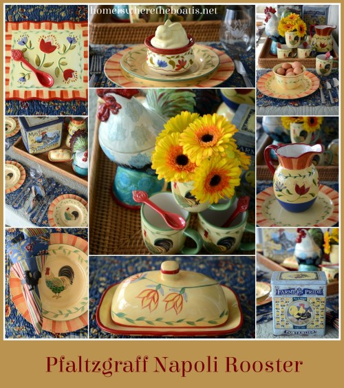 Pfaltzgraff Napoli Rooster Dinnerware