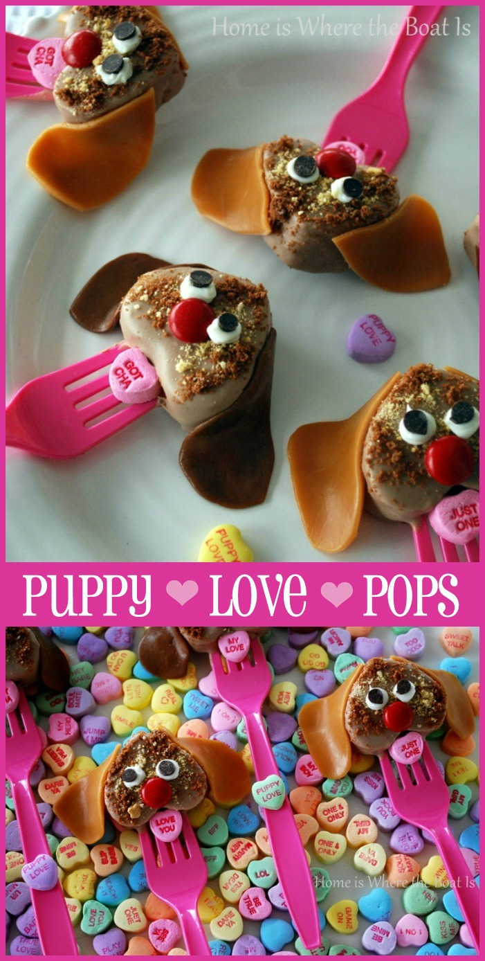 Valentine Puppy Love Pops