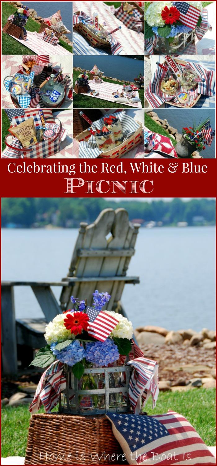 Celebrating the Red, White, & Blue Picnic