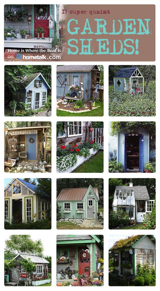 17 Super Quaint Garden Sheds Hometalk