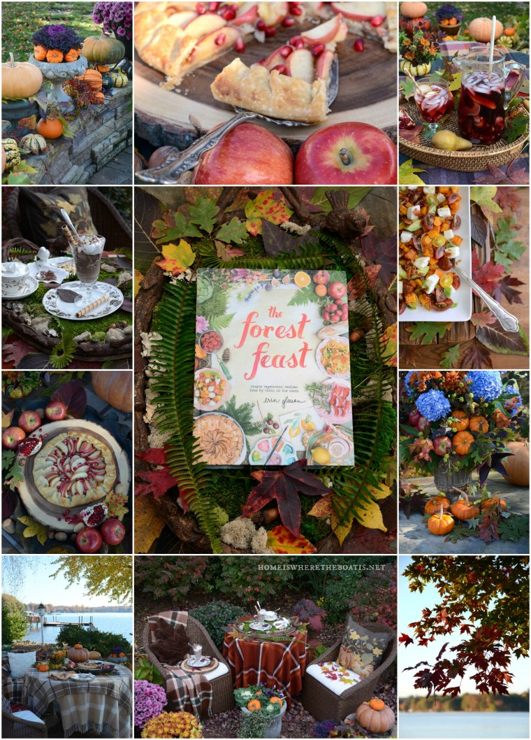 Novel Bakers The Forest Feast Week | ©homeiswheretheboatis.net #apple #recipes #easy #fall #desserts #pomegranate