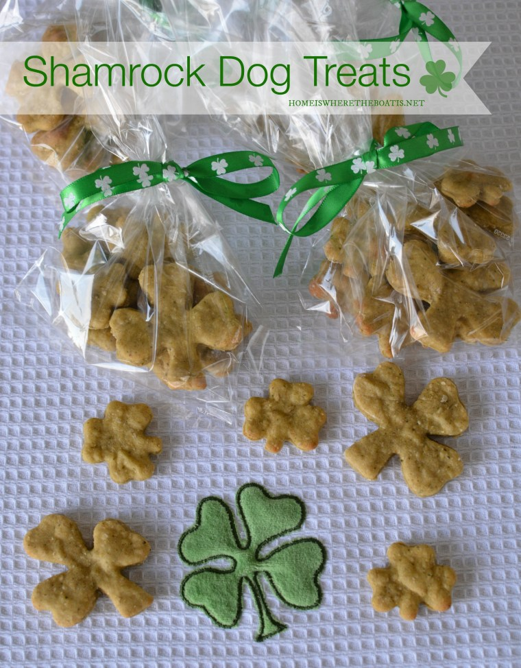 Shamrock Dog Treats